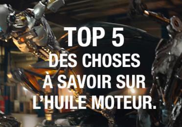 Conseils pour vos huiles moteurs